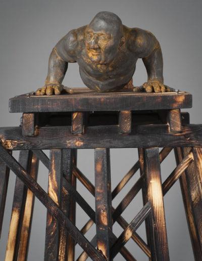 Sisyphus Wood-Iron L 23 x H 65 x W 29