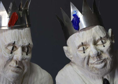 Two Kings - detail